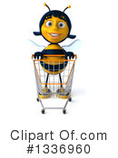 Female Bee Clipart #1336960 by Julos