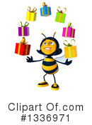 Female Bee Clipart #1336971 by Julos