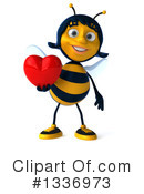 Female Bee Clipart #1336973 by Julos