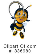 Female Bee Clipart #1336980 by Julos