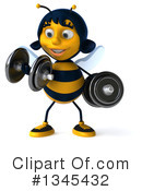 Female Bee Clipart #1345432 by Julos