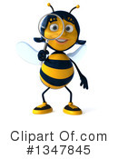 Female Bee Clipart #1347845 by Julos
