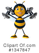Female Bee Clipart #1347847 by Julos