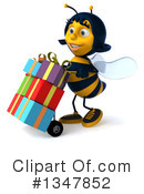 Female Bee Clipart #1347852 by Julos