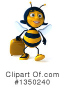 Female Bee Clipart #1350240 by Julos