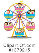 Ferris Wheel Clipart #1379215 by Graphics RF