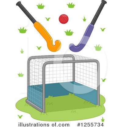Field Hockey Clipart #1255734 - Illustration by BNP Design Studio