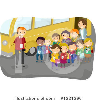 School Bus Clipart #1221296 by BNP Design Studio