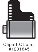 Film Clipart #1231845 by Lal Perera