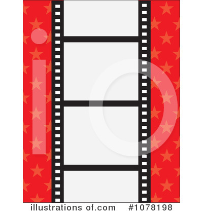Film Strip Clipart #1078198 - Illustration by Maria Bell