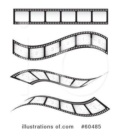 Film Strip Clipart #60485 - Illustration by TA Images