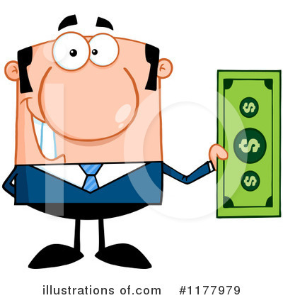 Businessman Clipart #1177979 by Hit Toon