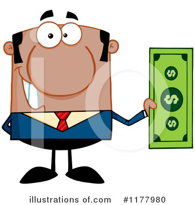 Businessman Clipart #1177980 by Hit Toon