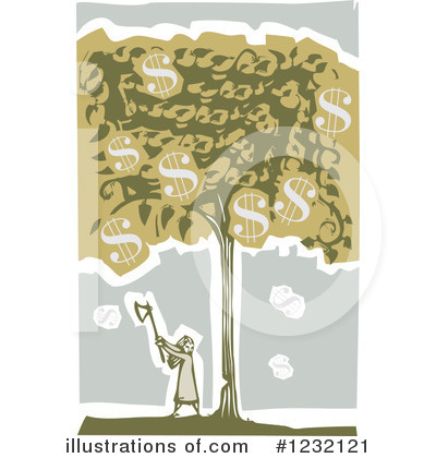 Money Tree Clipart #1232121 by xunantunich