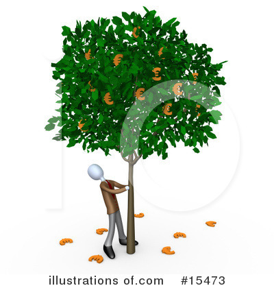 Money Tree Clipart #15473 by 3poD