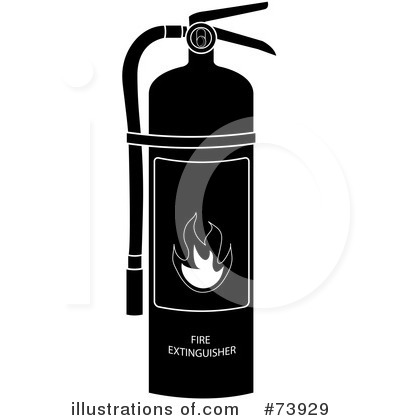 Fire Extinguisher Clipart #73929 - Illustration by Pams Clipart