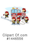 Firefighter Clipart #1446556 by BNP Design Studio