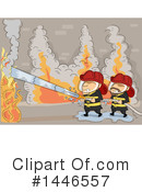 Firefighter Clipart #1446557 by BNP Design Studio
