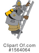 Firefighter Clipart #1564064 by djart