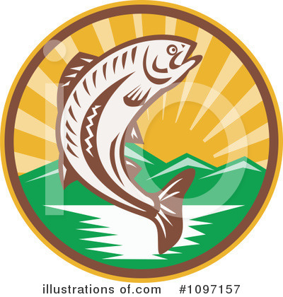 Fishing Clipart #1097157 by patrimonio