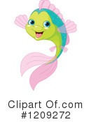 Fish Clipart #1209272 by Pushkin
