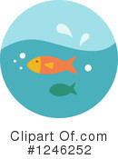 Fish Clipart #1246252 by BNP Design Studio