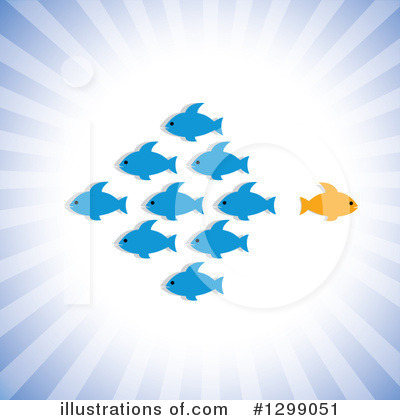 Fish Clipart #1299051 by ColorMagic
