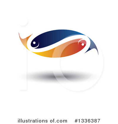 Fish Clipart #1336387 by ColorMagic