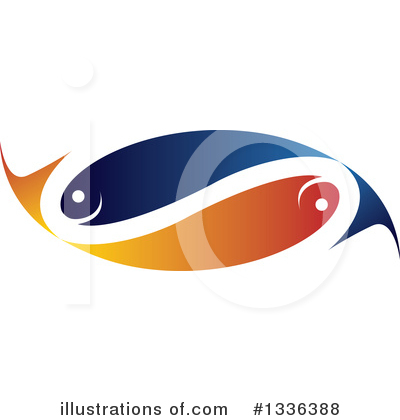 Fish Clipart #1336388 by ColorMagic