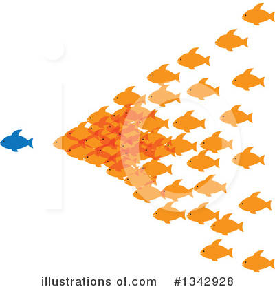 Fish Clipart #1342928 by ColorMagic