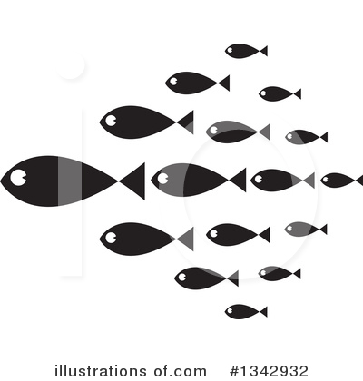 Fish Clipart #1342932 by ColorMagic