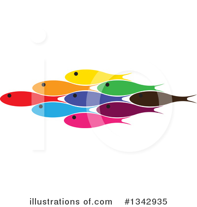 Fish Clipart #1342935 by ColorMagic