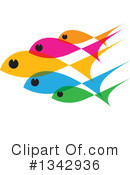 Fish Clipart #1342936 by ColorMagic
