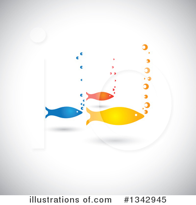 Fish Clipart #1342945 by ColorMagic