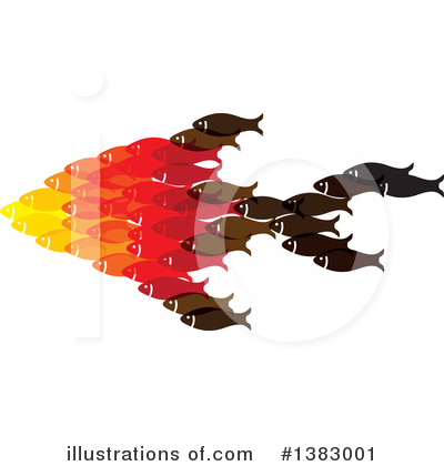 Fish Clipart #1383001 by ColorMagic