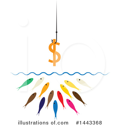 Fish Clipart #1443368 by ColorMagic