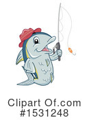 Fish Clipart #1531248 by BNP Design Studio