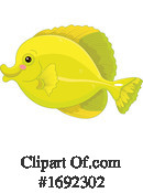 Fish Clipart #1692302 by Pushkin