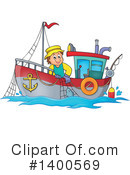 Fisherman Clipart #1400569 by visekart