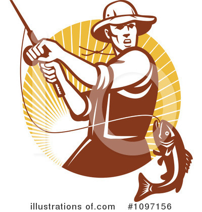 Fishing Clipart #1097156 by patrimonio