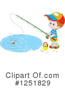 Fishing Clipart #1251829 by Alex Bannykh