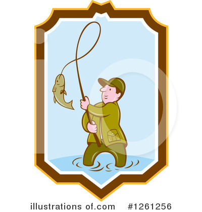 Fishing Clipart #1261256 by patrimonio