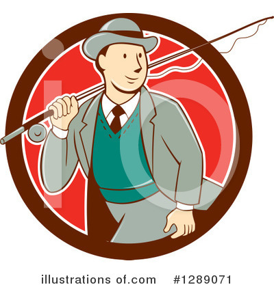 Fishing Clipart #1289071 by patrimonio
