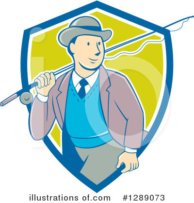 Fishing Clipart #1289073 by patrimonio