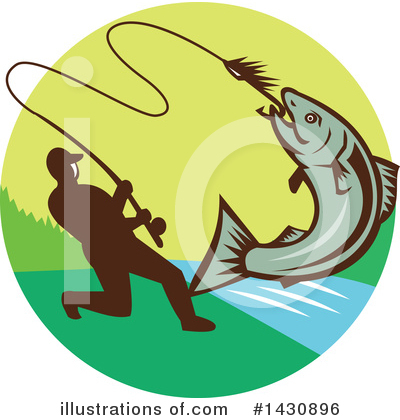 Fishing Clipart #1430896 by patrimonio