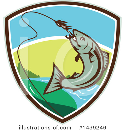 Fishing Clipart #1439246 by patrimonio
