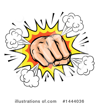Fighter Clipart #1444036 by AtStockIllustration
