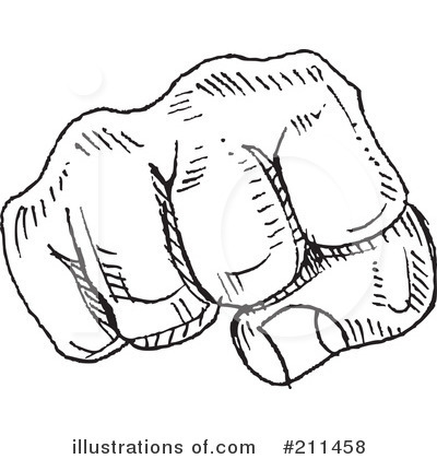 Fist Clipart #211458 - Illustration by yayayoyo