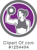 Fitness Clipart #1254494 by patrimonio