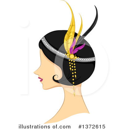 Woman Clipart #1372615 by BNP Design Studio